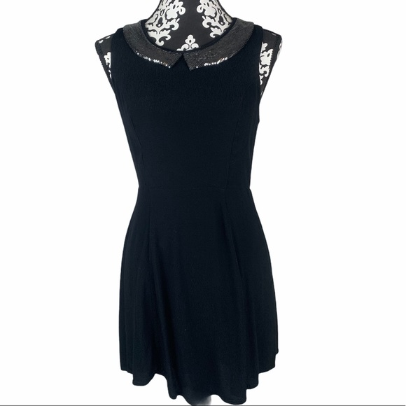 F21 Cocktail Dress with Sequin Collar